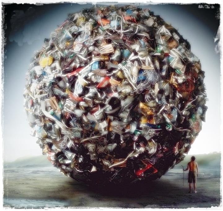bola de lixo