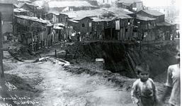 Ocupação irregular da área do Morro da Providência em 1920