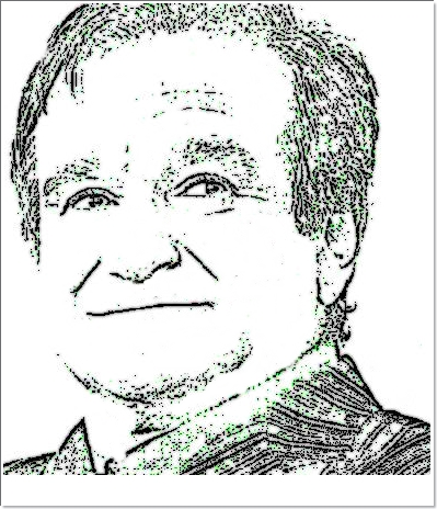 A última foto do ator Robin Williams