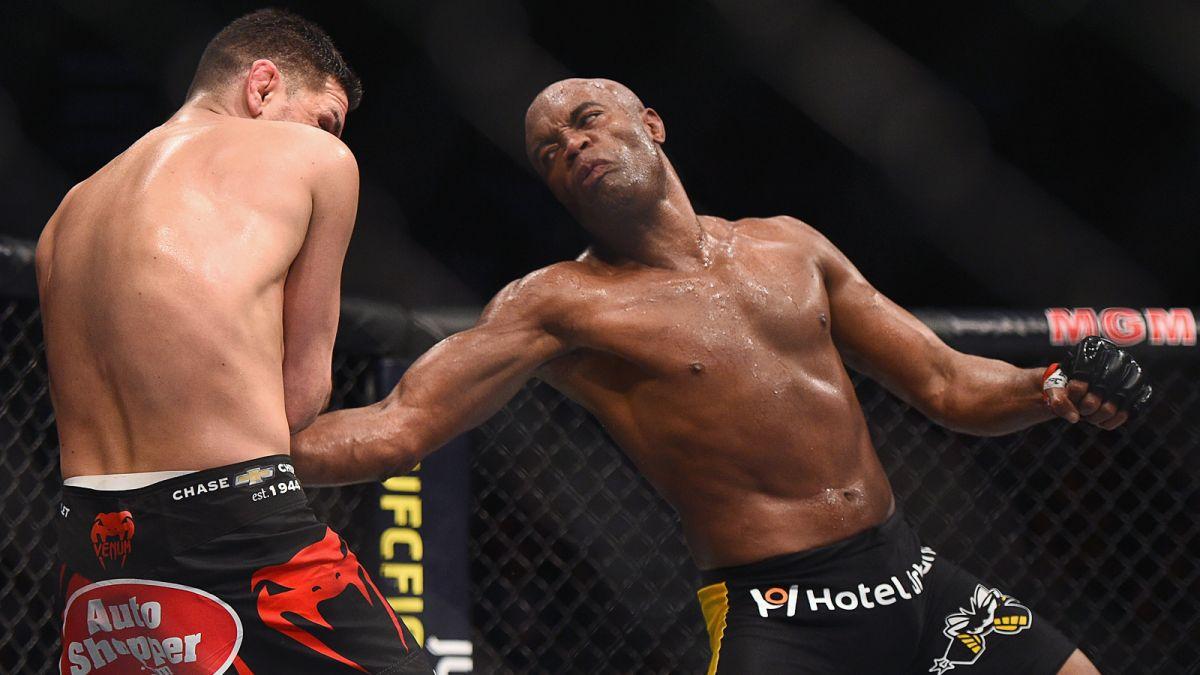 De volta, Anderson Silva bate Nick Diaz no UFC 183