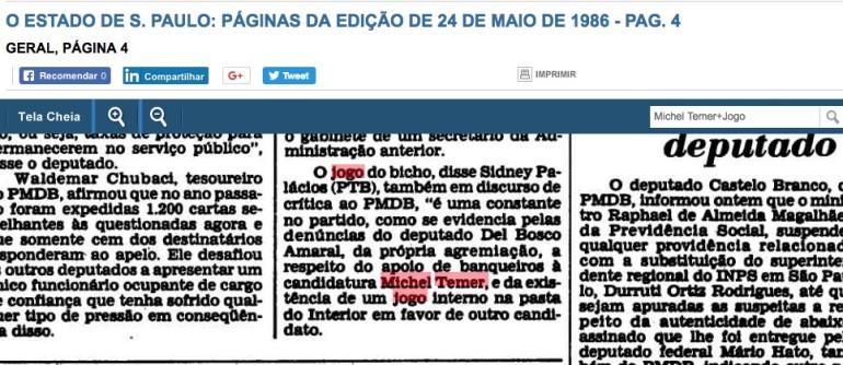 temer 24 maio 1986