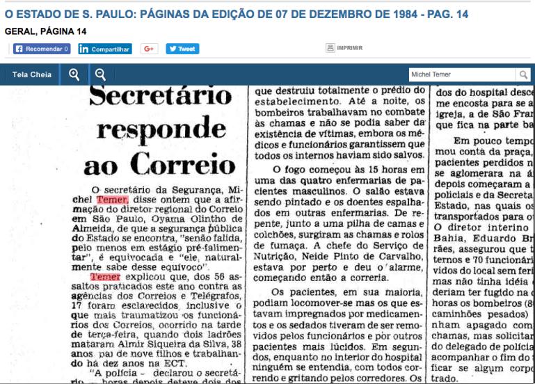 temer 7 dez 1986